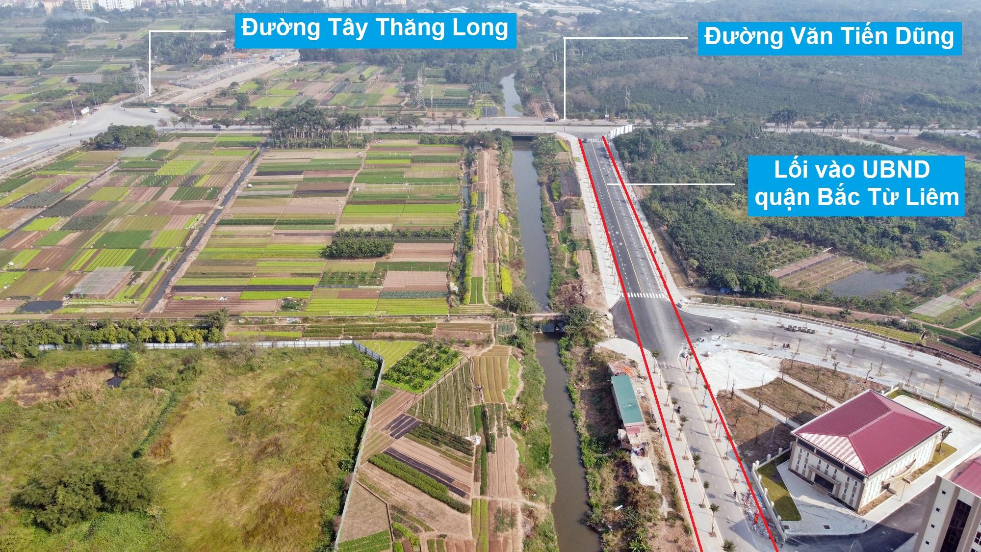 Đường sẽ mở theo quy hoạch ở phường Minh Khai, Bắc Từ Liêm, Hà Nội (phần 2) - Ảnh 3.