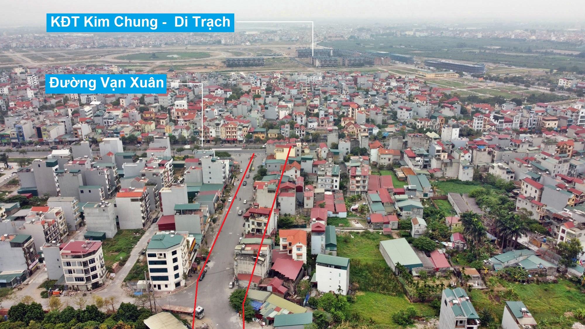 Đường sẽ mở theo quy hoạch ở xã Kim Chung, Hoài Đức, Hà Nội (phần 2) - Ảnh 3.