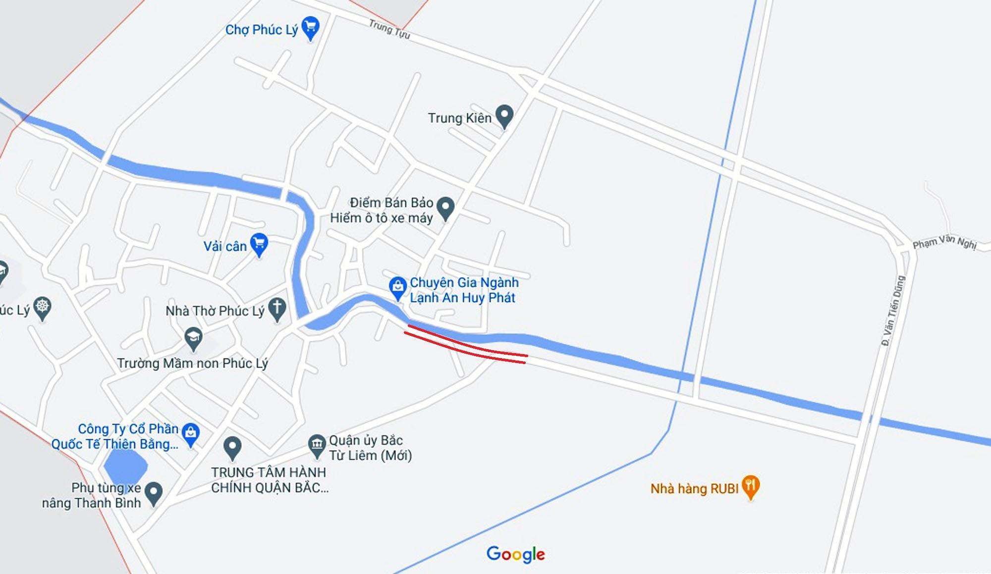 Đường sẽ mở theo quy hoạch ở phường Minh Khai, Bắc Từ Liêm, Hà Nội (phần 2) - Ảnh 2.