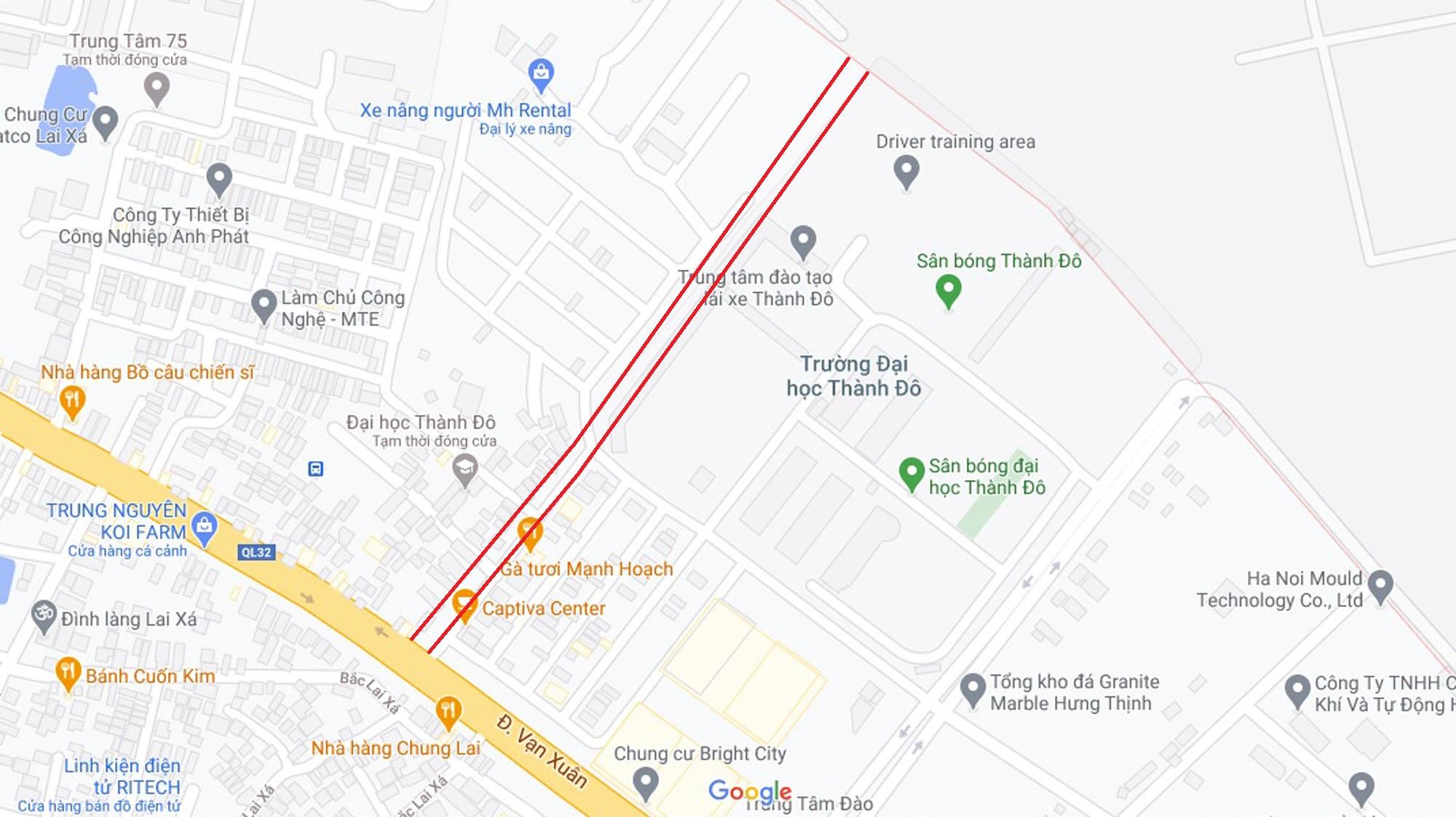 Đường sẽ mở theo quy hoạch ở xã Kim Chung, Hoài Đức, Hà Nội (phần 2) - Ảnh 2.