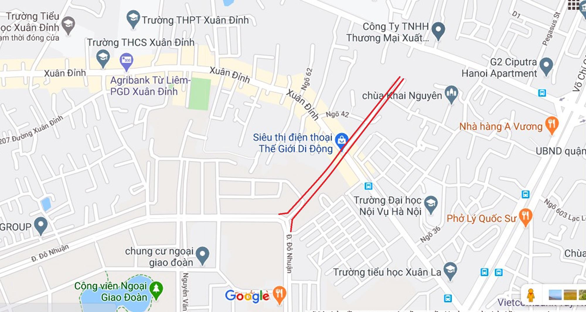 đường sẽ mở theo qui hoạch ở phường Xuân Tảo, Bắc Từ Liêm, Hà Nội - Ảnh 6.
