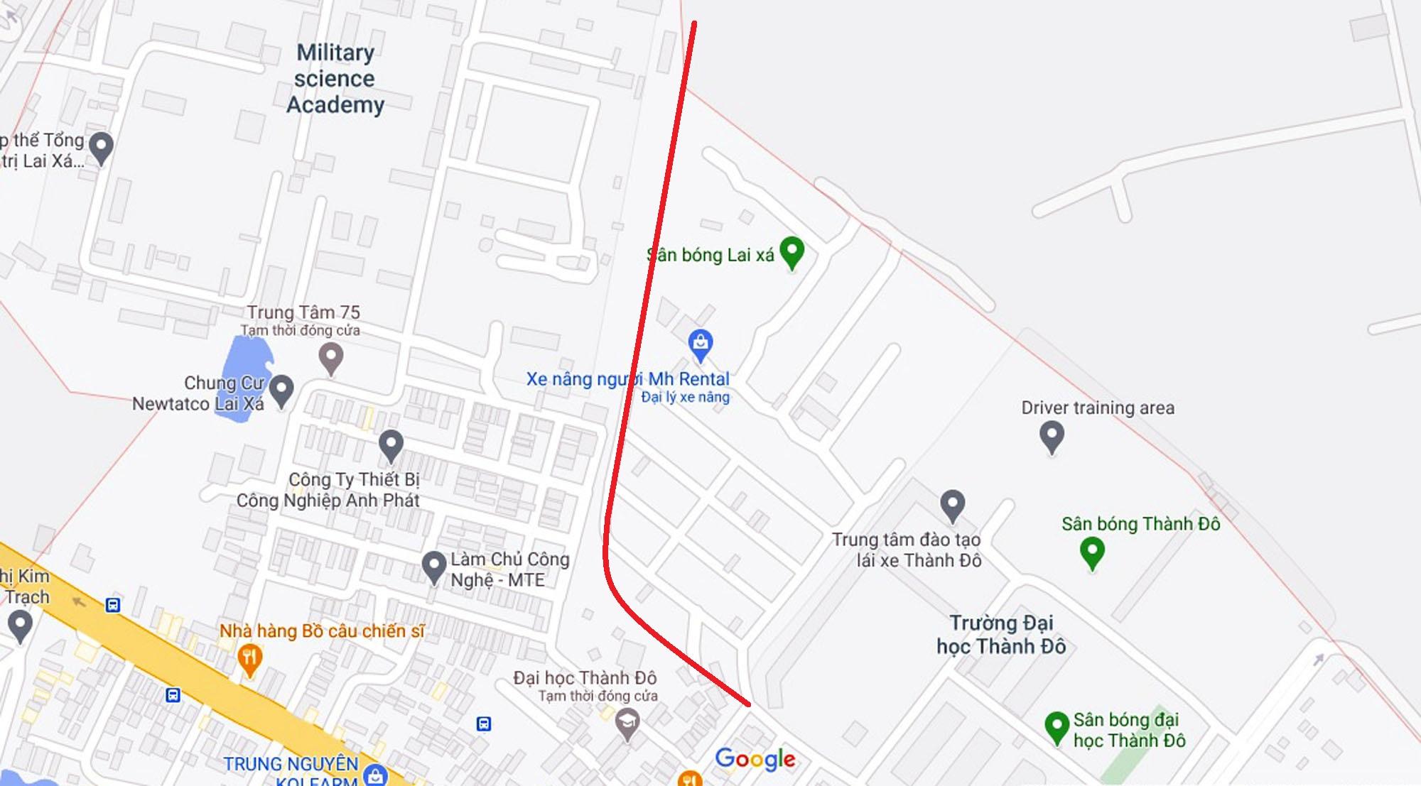 Đường sẽ mở theo quy hoạch ở xã Kim Chung, Hoài Đức, Hà Nội (phần 2) - Ảnh 6.