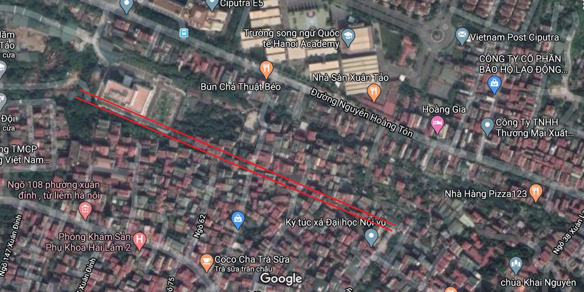 3 đường sẽ mở theo qui hoạch ở phường Xuân Tảo, Bắc Từ Liêm, Hà Nội - Ảnh 13.