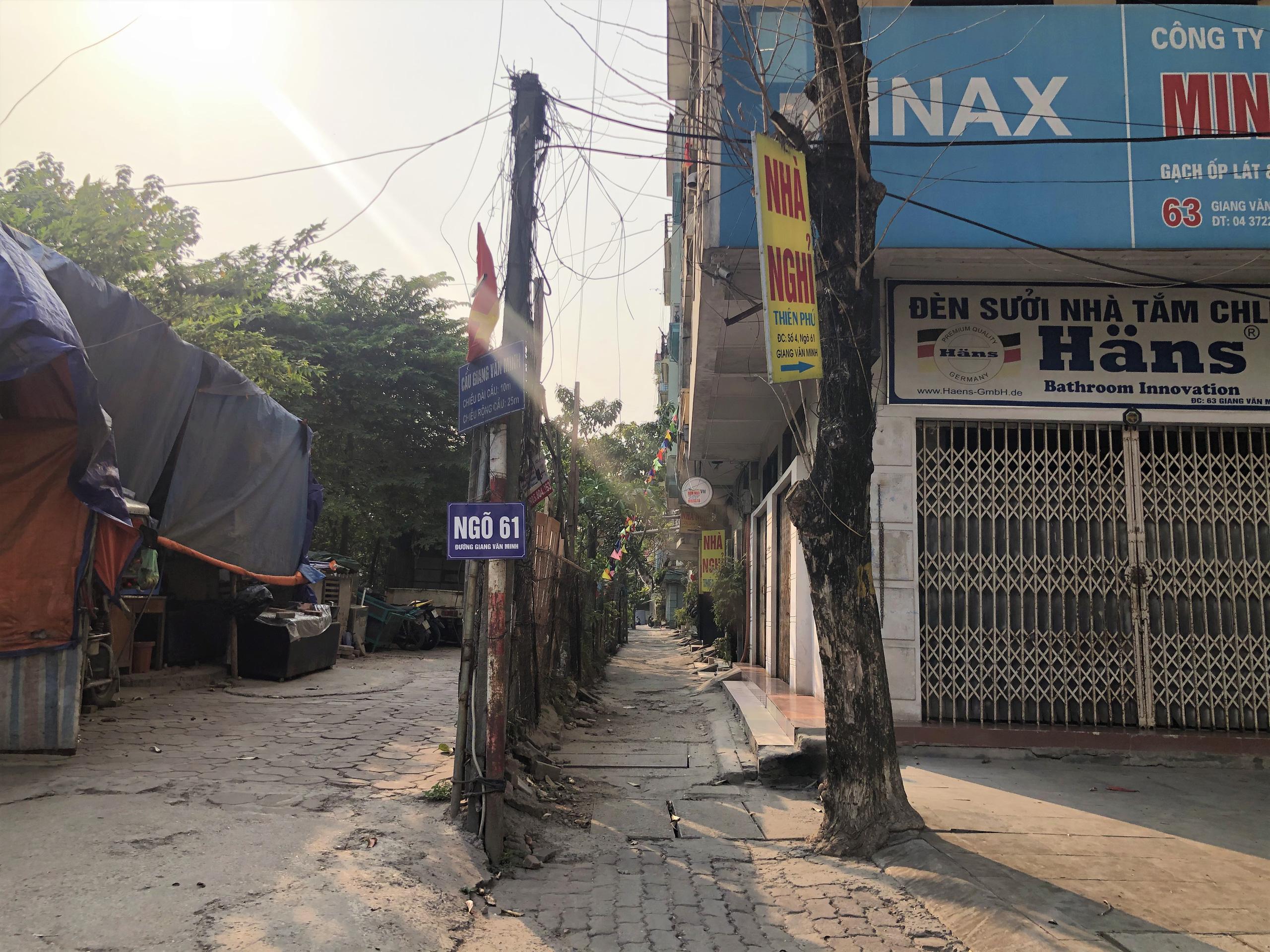 Những căn nhà sẽ ra mặt đường tại phường Đội Cấn (phần 1) - Ảnh 4.