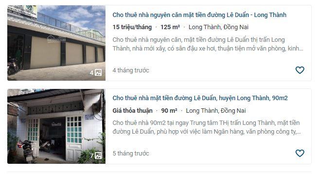 Giá đất ở tại đô thị đường Lê Duẩn, Long Thành, Đồng Nai - Ảnh 5.