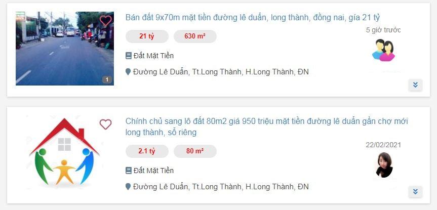 Giá đất ở tại đô thị đường Lê Duẩn, Long Thành, Đồng Nai - Ảnh 4.