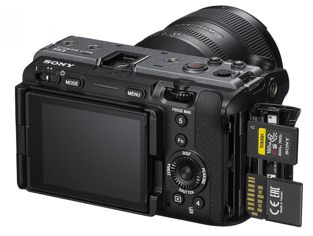 Sony cho ra mắt máy ảnh FX3 quay Full Frame có giá bán 3.900 USD  - Ảnh 4.