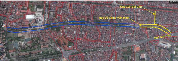 Đường sắp mở Núi Trúc - Sơn Tây  - Ảnh 10.