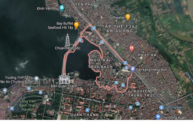 Những khu đất dính quy hoạch ở phường Trúc Bạch, Ba Đình, Hà Nội - Ảnh 1.