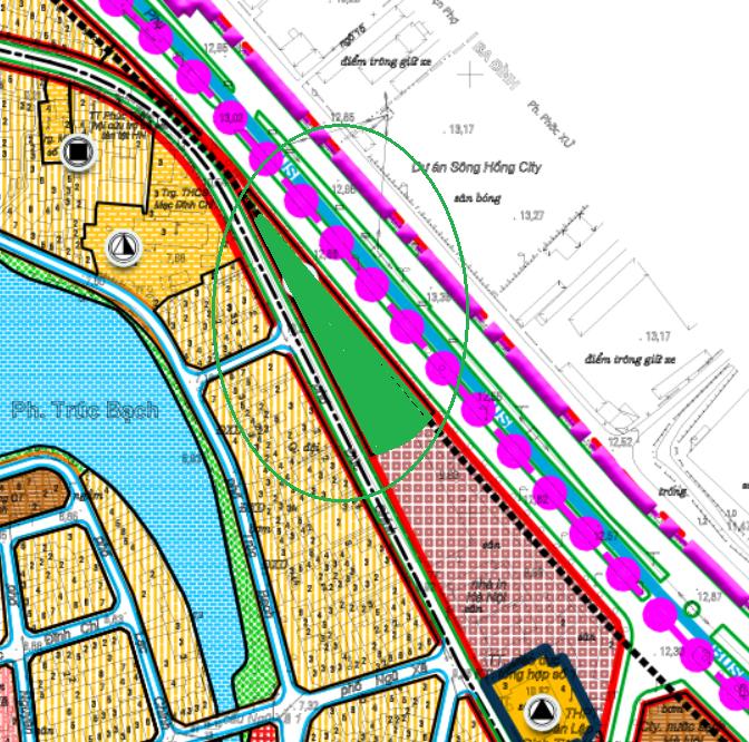 Những khu đất dính quy hoạch ở phường Trúc Bạch, Ba Đình, Hà Nội - Ảnh 3.