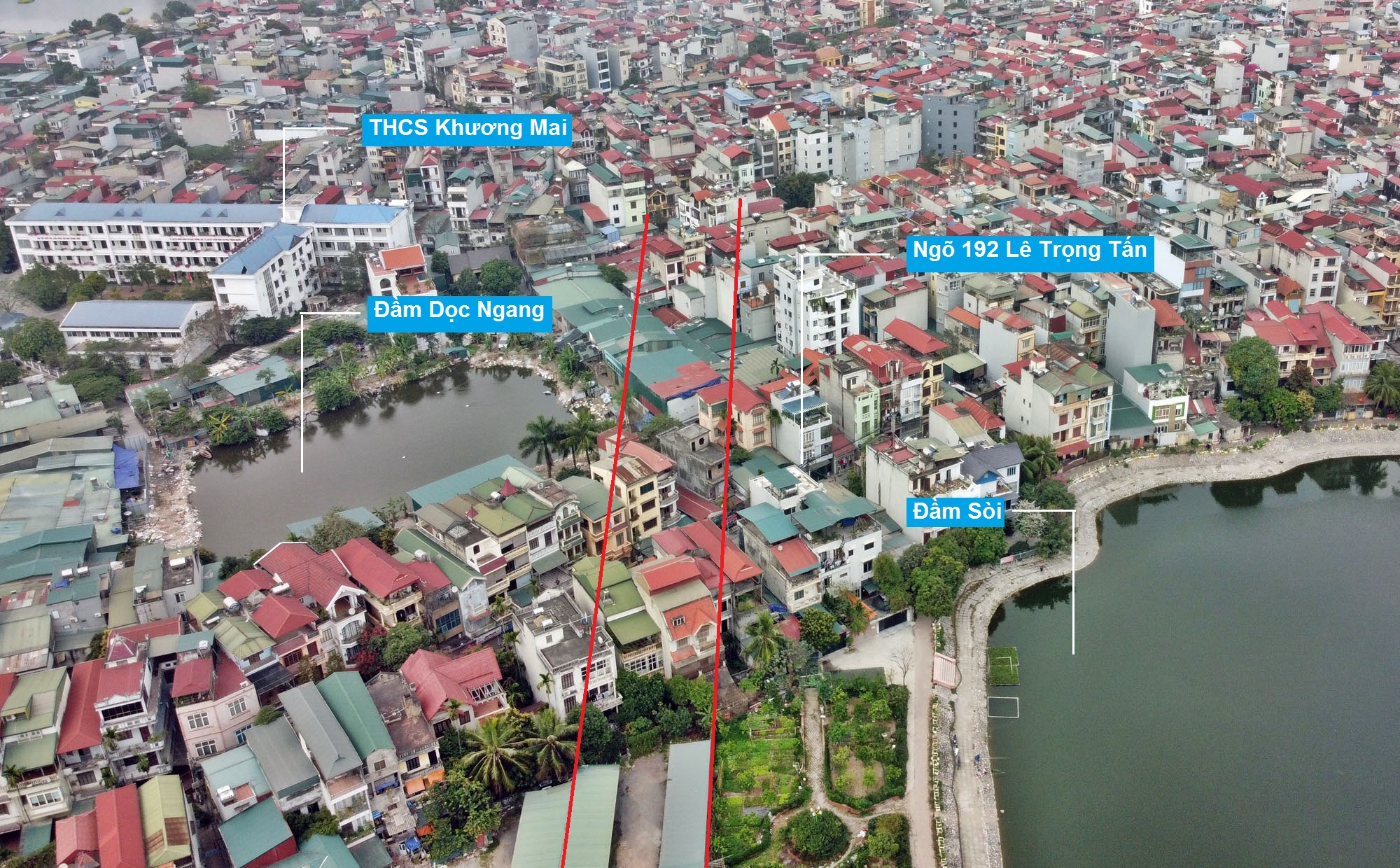 Đường sẽ mở theo quy hoạch ở phường Định Công, Hoàng Mai, Hà Nội (phần 2) - Ảnh 5.