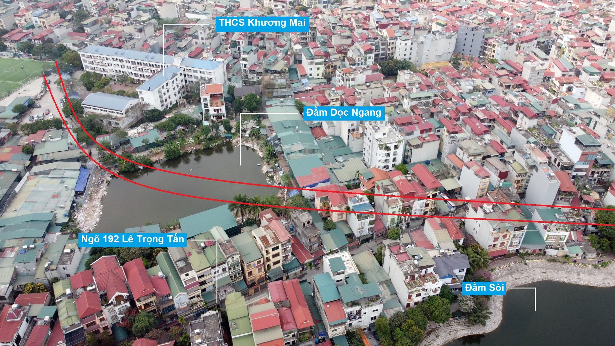 Đường sẽ mở theo quy hoạch ở phường Định Công, Hoàng Mai, Hà Nội (phần 2) - Ảnh 7.
