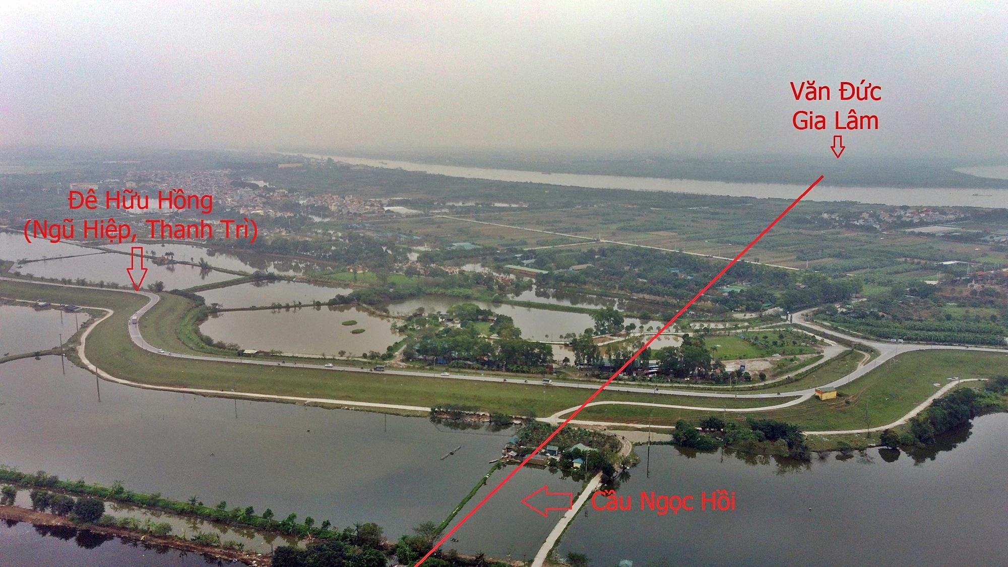 Khi nào làm cầu Ngọc Hồi gần loạt khu đô thị lớn của Vinhomes, Ecopark? - Ảnh 3.