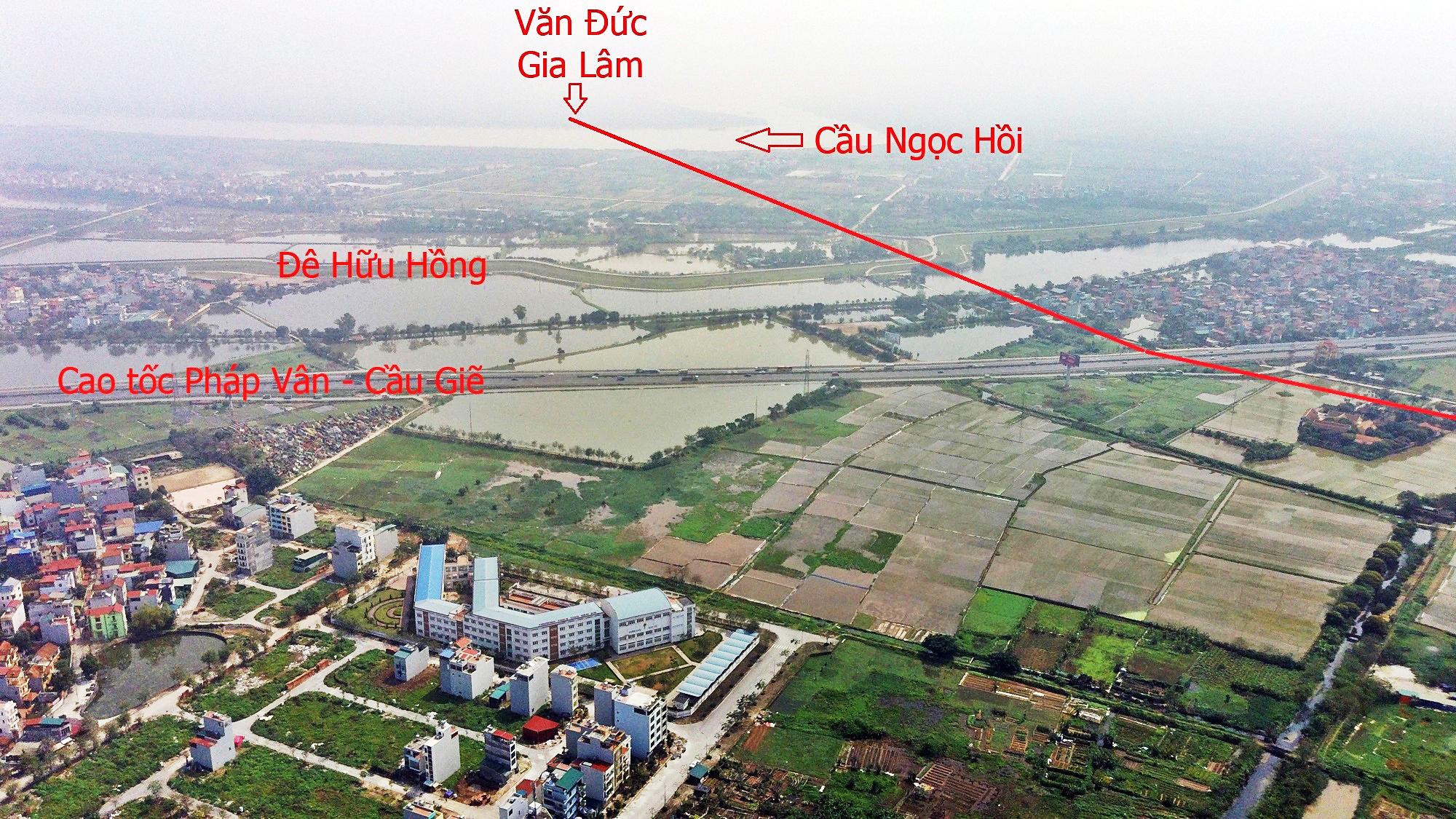 Khi nào làm cầu Ngọc Hồi gần loạt khu đô thị lớn của Vinhomes, Ecopark? - Ảnh 2.