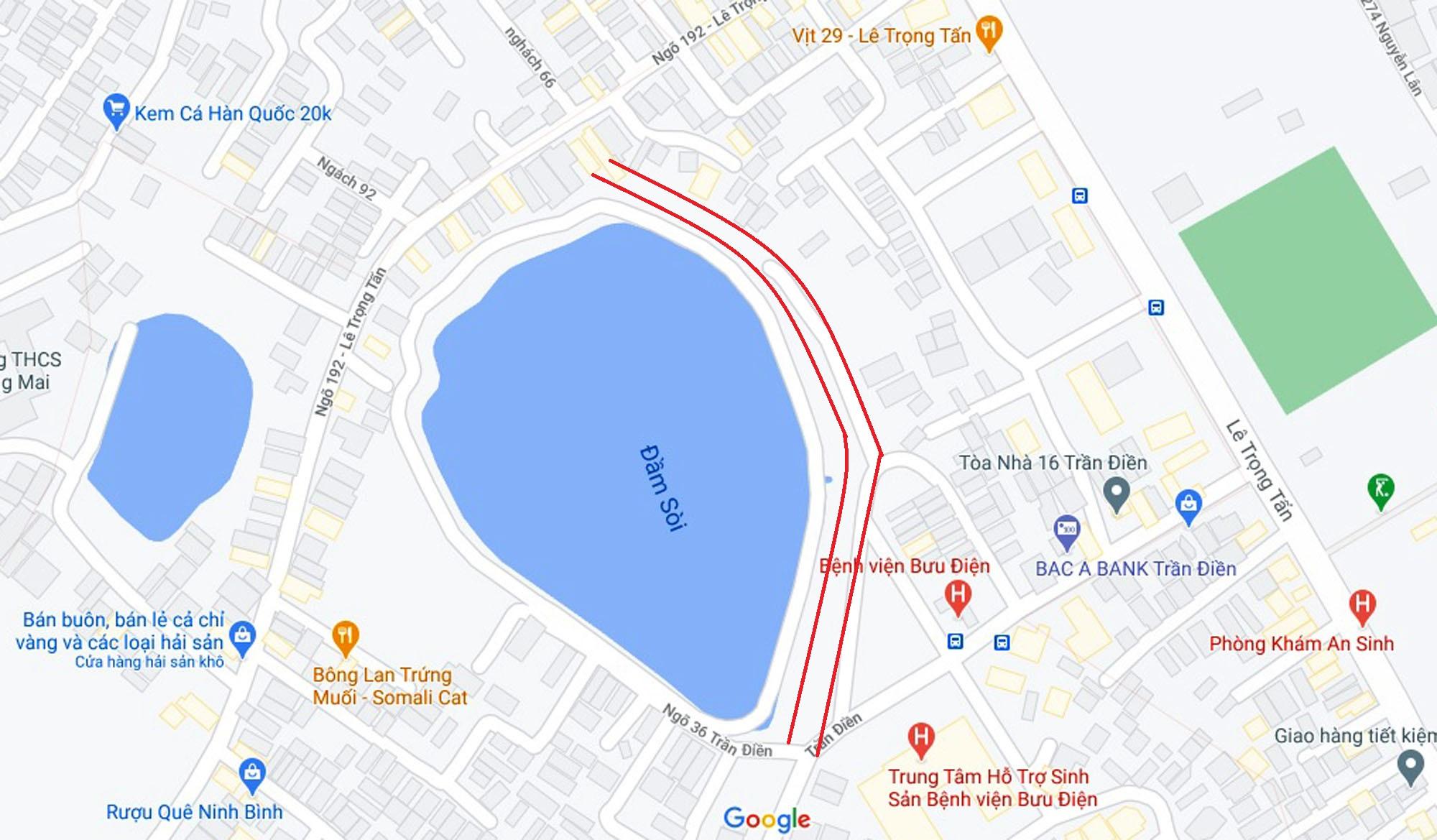 Đường sẽ mở theo quy hoạch ở phường Định Công, Hoàng Mai, Hà Nội (phần 2) - Ảnh 9.