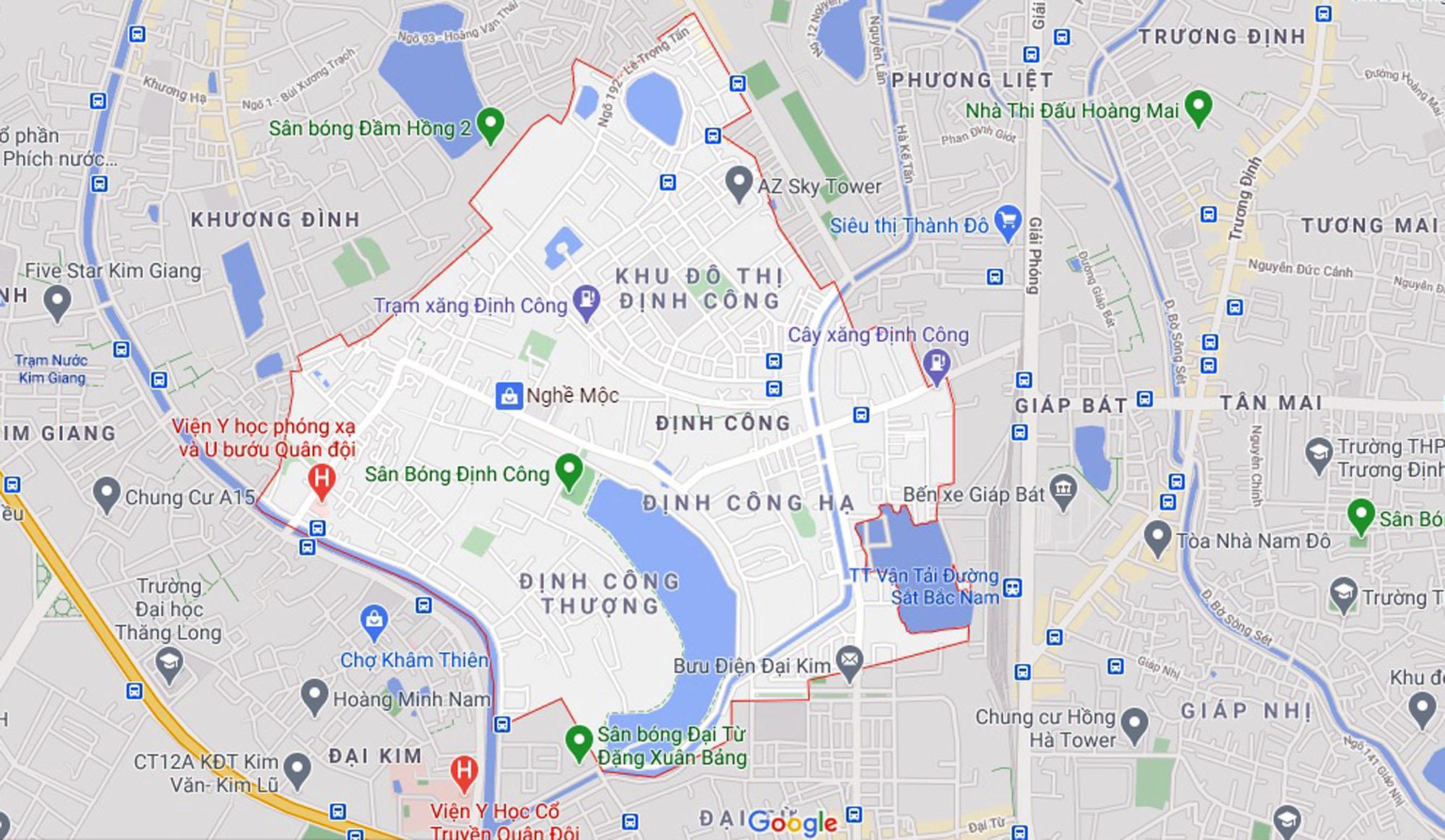 Đường sẽ mở theo quy hoạch ở phường Định Công, Hoàng Mai, Hà Nội (phần 2) - Ảnh 1.