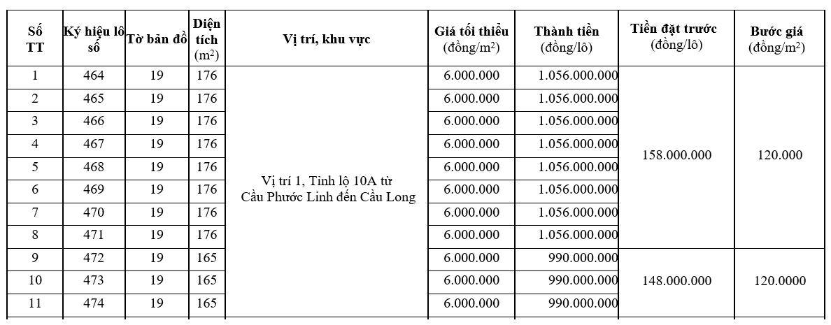 Đấu giá 25 lô đất tại huyện Phú Vang, Thừa Thiên Huế - Ảnh 1.