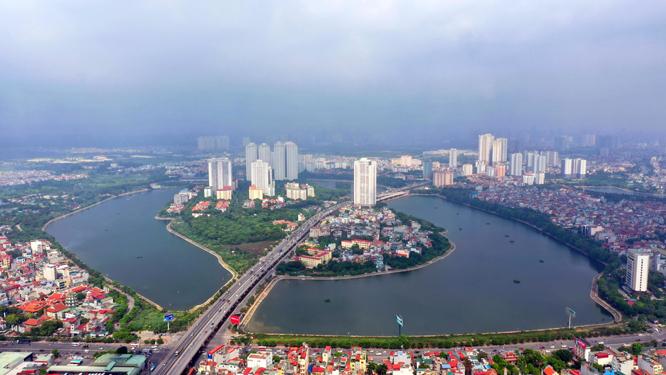 Quận Hoàng Mai sẽ thu hồi hơn 178 ha đất 2021 - Ảnh 1.