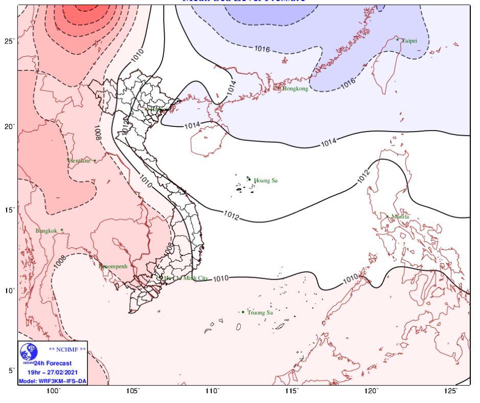 Thời tiết Hà Nội hôm nay 28/2: Sáng và đêm có mưa, mưa nhỏ, Hải Phòng mưa rào và ban đêm - Ảnh 1.