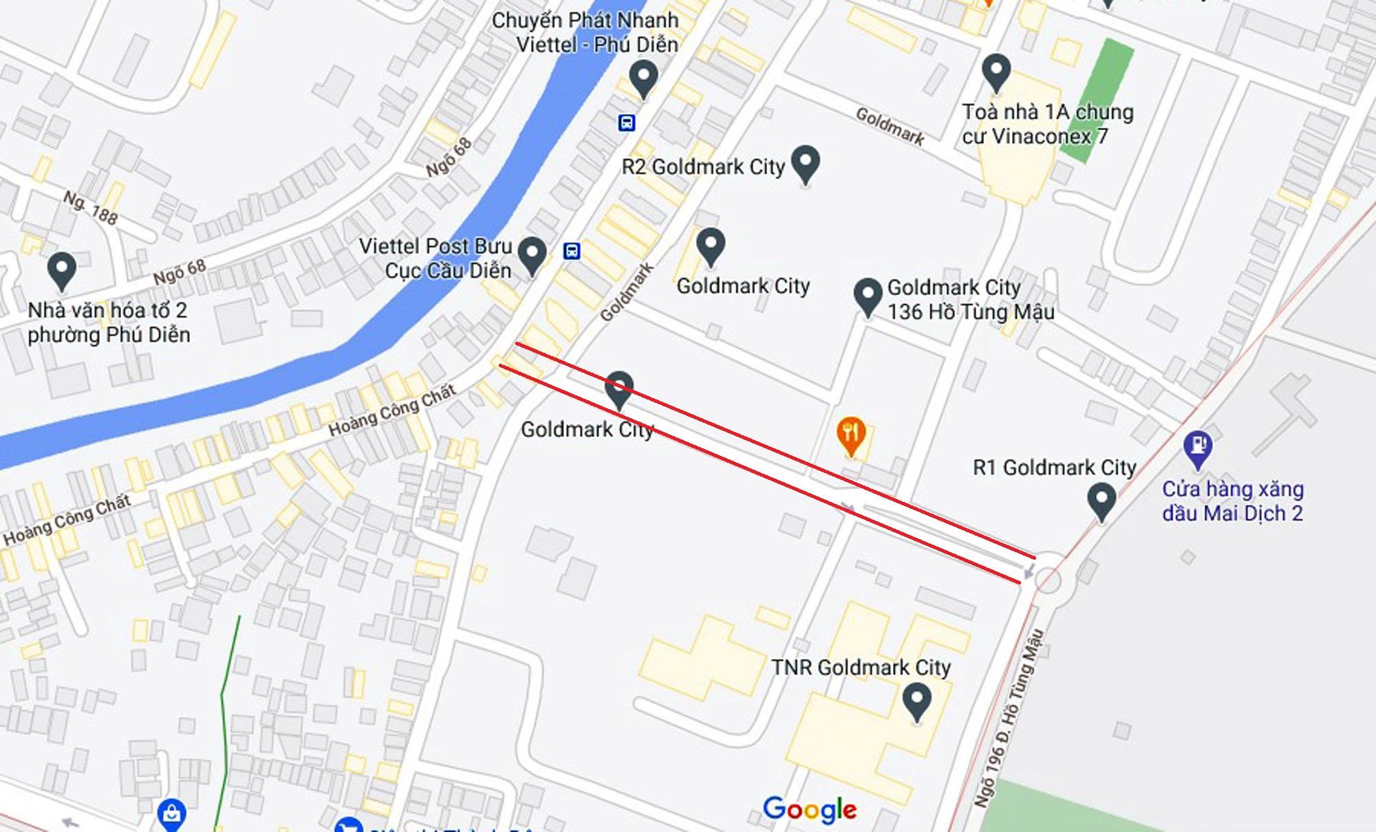 Ba đường sẽ mở theo qui hoạch ở phường Phú Diễn, Bắc Từ Liêm, Hà Nội (phần 2) - Ảnh 2.