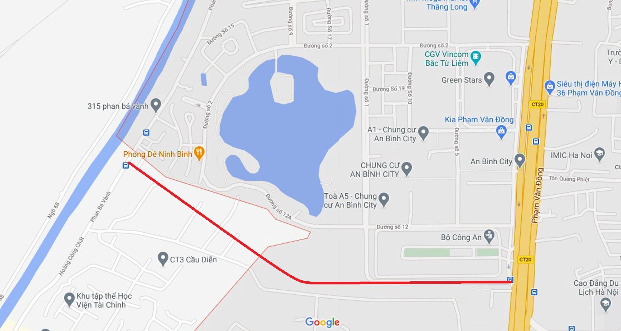 Ba đường sẽ mở theo qui hoạch ở phường Phú Diễn, Bắc Từ Liêm, Hà Nội (phần 2) - Ảnh 10.