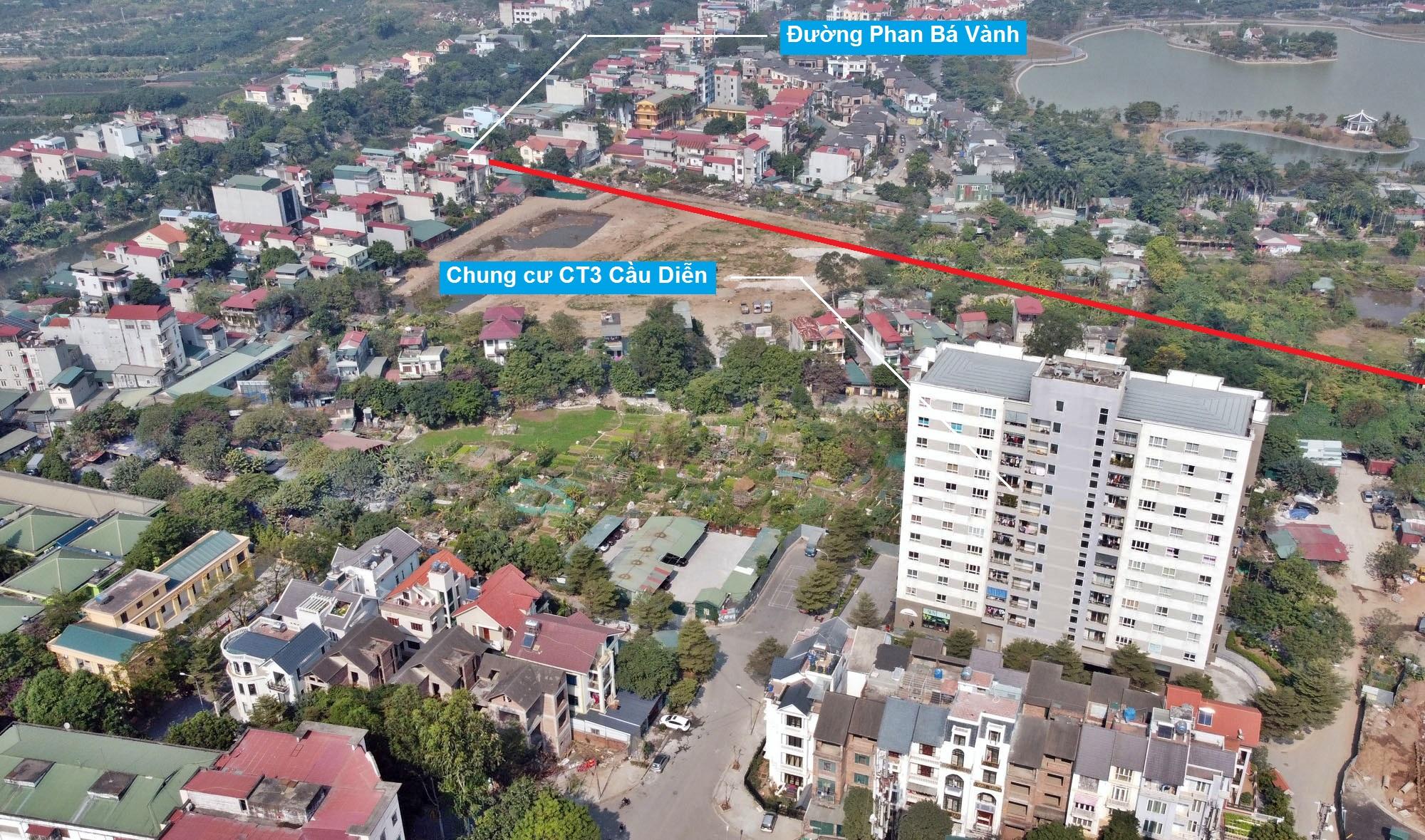 Ba đường sẽ mở theo qui hoạch ở phường Phú Diễn, Bắc Từ Liêm, Hà Nội (phần 2) - Ảnh 12.