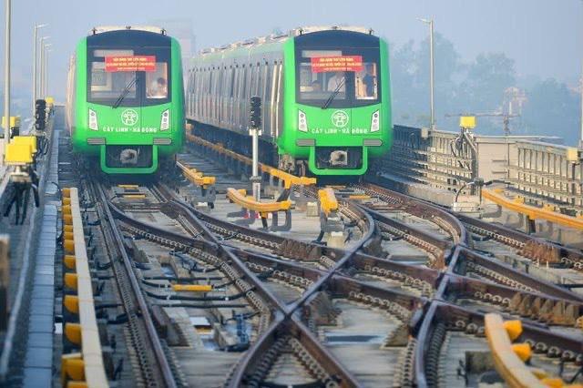 Đường sắt Cát Linh - Hà Đông dự kiến bàn giao cuối tháng 3/2021 - Ảnh 1.
