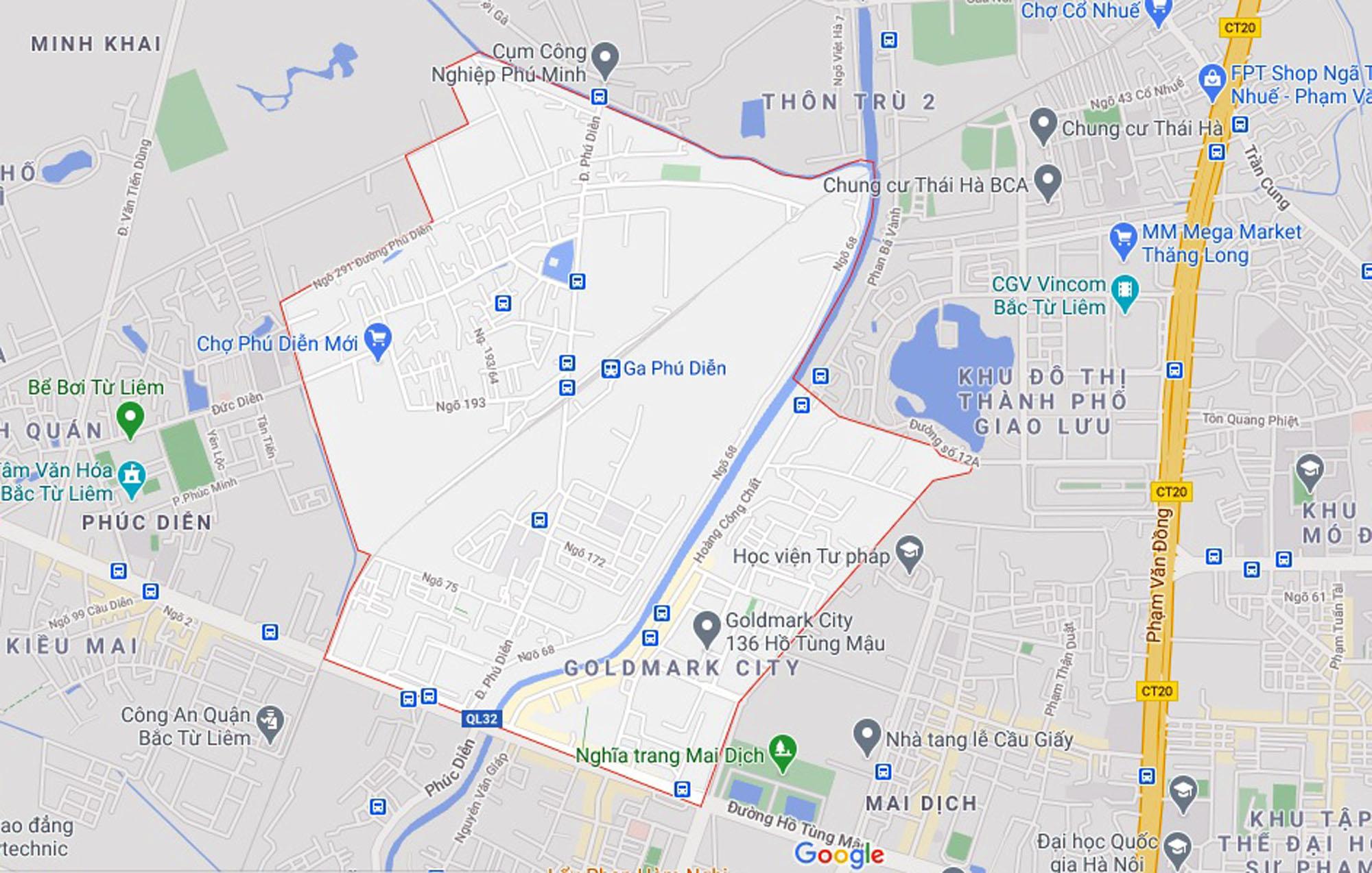 Ba đường sẽ mở theo qui hoạch ở phường Phú Diễn, Bắc Từ Liêm, Hà Nội (phần 2) - Ảnh 1.