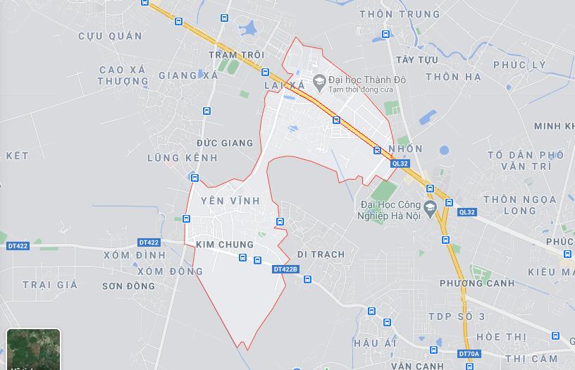 Giá đất Quốc lộ 32, xã Kim Chung, Hoài Đức, Hà Nội - Ảnh 1.