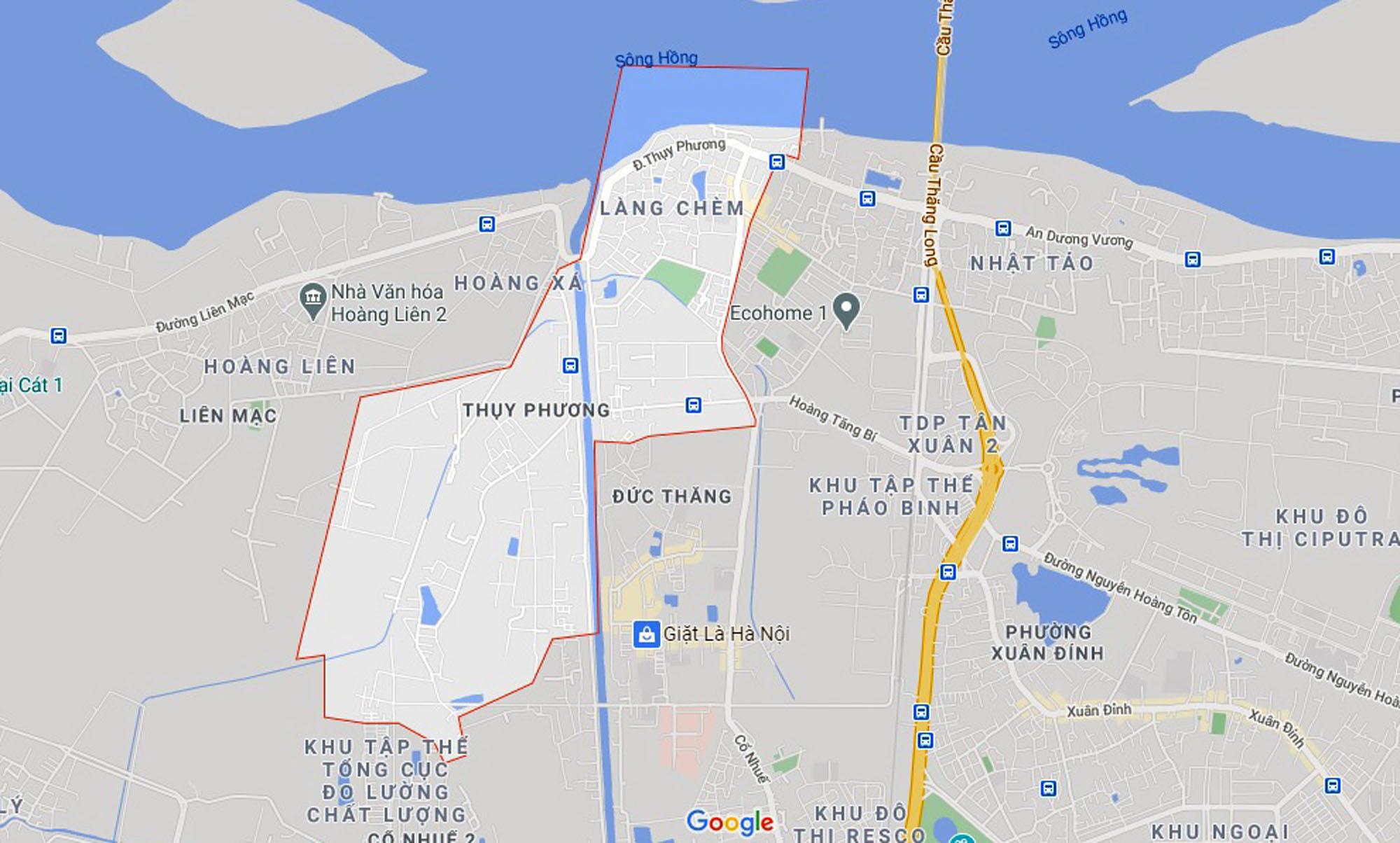 Ba đường sẽ mở theo quy hoạch ở phường Thụy Phương, Bắc Từ Liêm, Hà Nội (phần 3) - Ảnh 1.