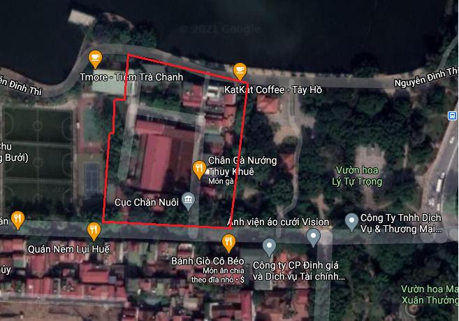 Ba khu đất dính quy hoạch ở phường Thụy Khuê, quận Tây Hồ, Hà Nội - Ảnh 9.