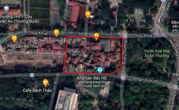 Ba khu đất dính quy hoạch ở phường Thụy Khuê, quận Tây Hồ, Hà Nội - Ảnh 16.