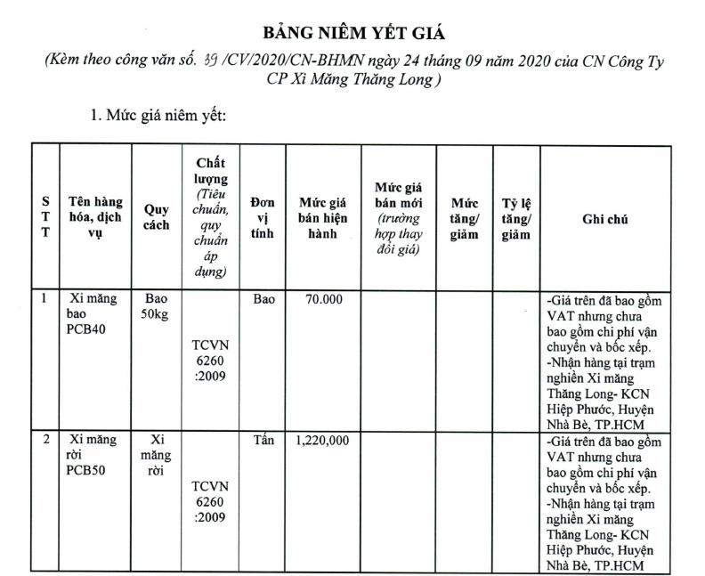 Giá xi măng tại TP HCM mới nhất: Dao động từ  890.000 đồng/tấn đến 2.200.000 đồng/tấn - Ảnh 6.