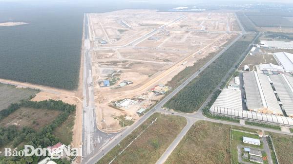 Khu tái định cư Lộc An - Bình Sơn bắt đầu xây dựng trường học, trụ sở UBND - Ảnh 1.