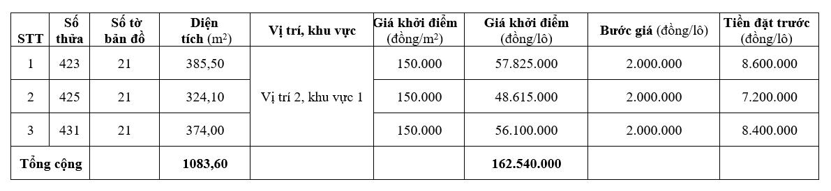 Đấu giá 54 lô đất ở tại huyện Phong Điền, Thừa Thiên Huế - Ảnh 3.