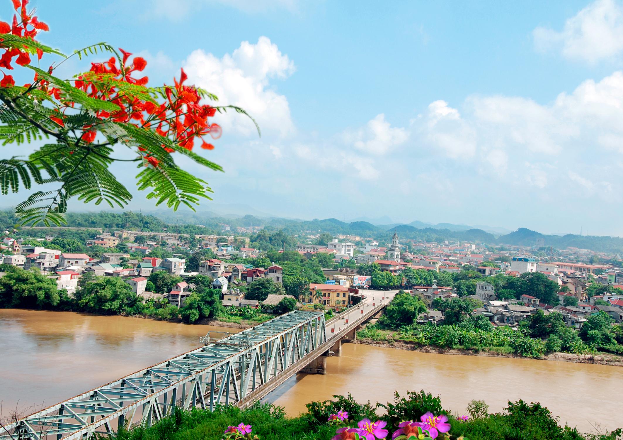 TP Yên Bái sẽ có khu đô thị cạnh sông Hồng và hai tuyến quốc lộ  - Ảnh 1.