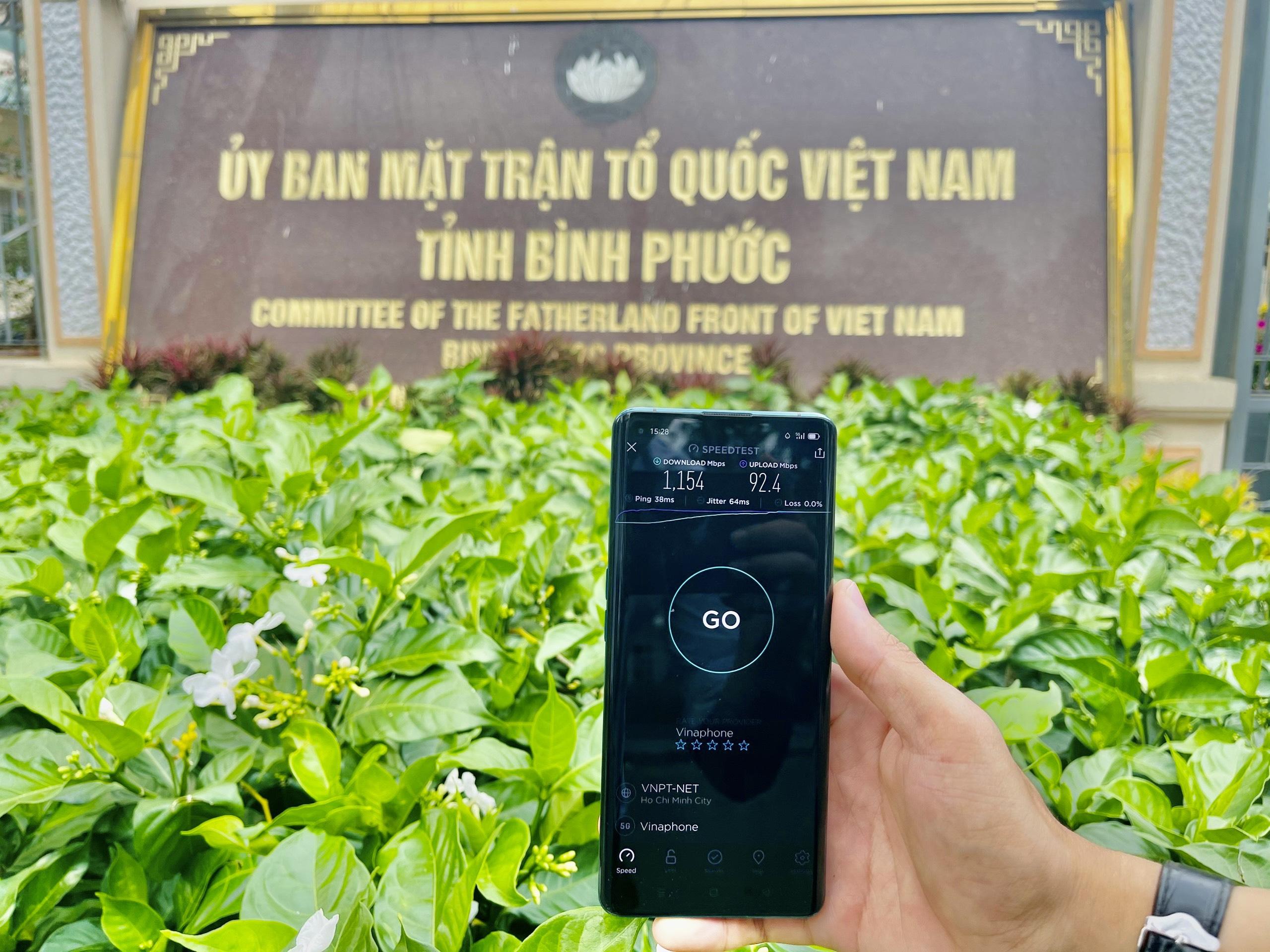 VinaPhone phủ sóng 5G tại Bình Phước - Ảnh 1.