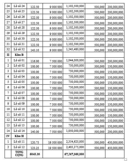 Đấu giá 48 lô đất tại huyện Yên Định, Thanh Hóa, giá khởi điểm cao nhất hơn 4,5 tỷ đồng/lô - Ảnh 2.