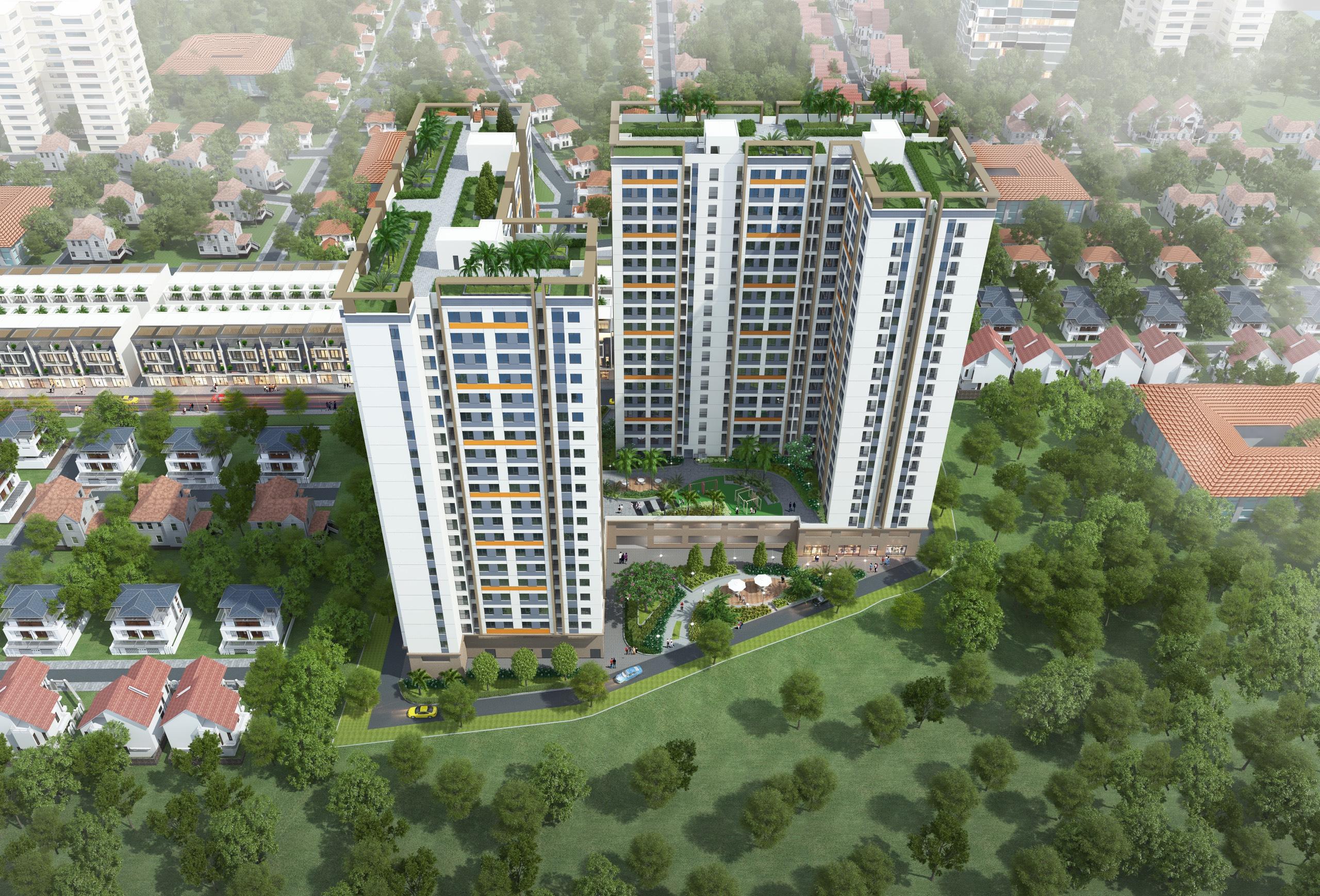 Dự án NƠXH Bông Hồng cao 22 tầng dự kiến khởi công trong quý II/2021 - Ảnh 1.