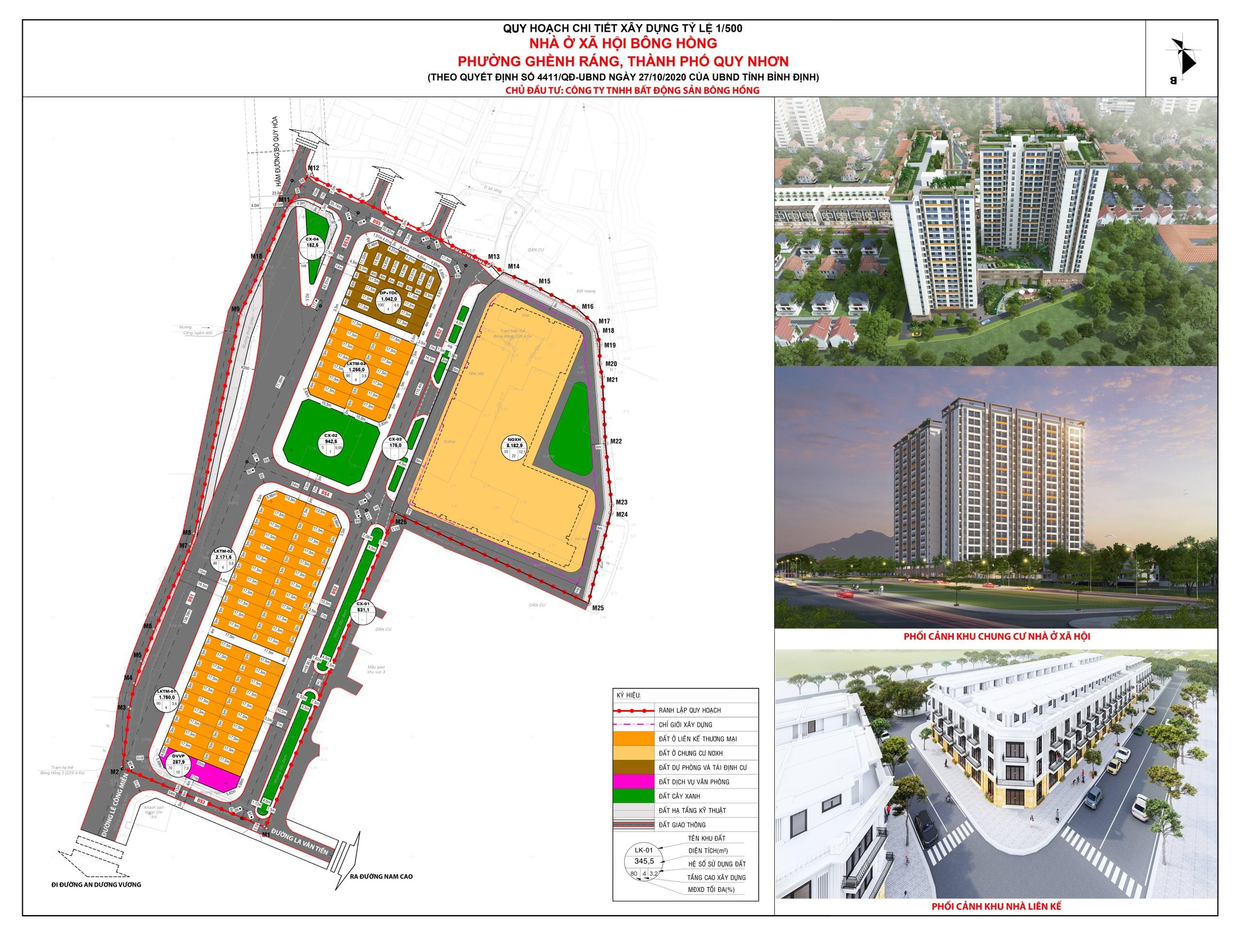Dự án NƠXH Bông Hồng cao 22 tầng dự kiến khởi công trong quý II/2021 - Ảnh 2.