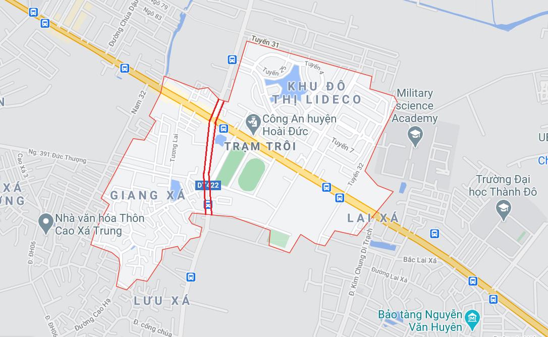 Giá đất đường Tỉnh lộ 442, thị trấn Trạm Trôi, Hoài Đức, Hà Nội - Ảnh 1.