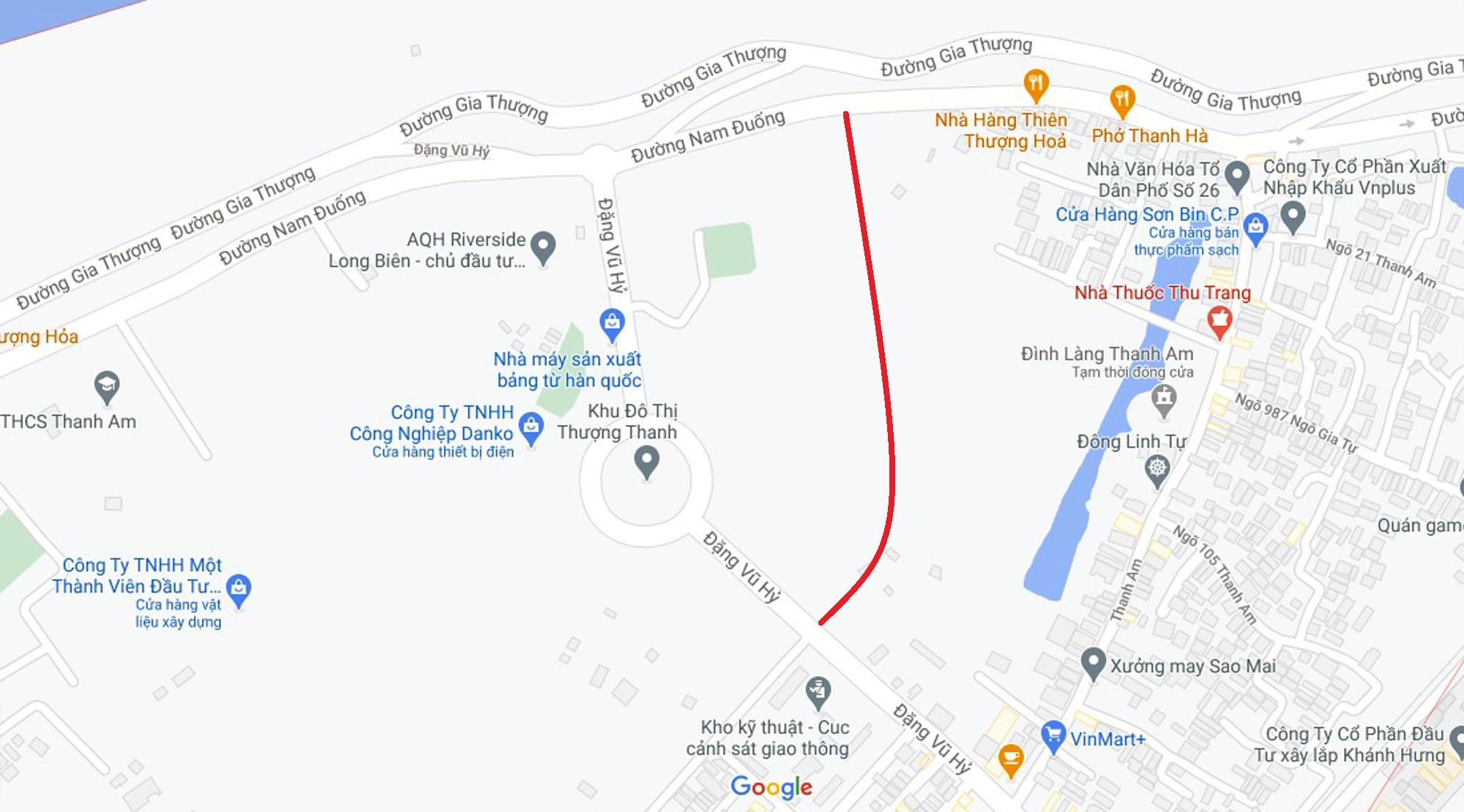 Đường sẽ mở theo quy hoạch ở phường Thượng Thanh, Long Biên, Hà Nội (phần 3) - Ảnh 2.