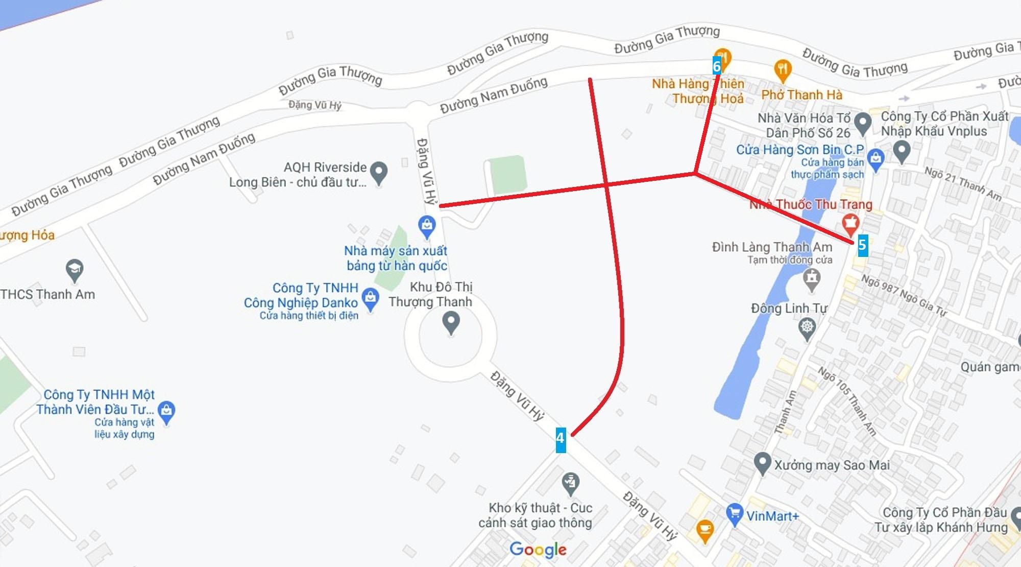 Đường sẽ mở theo quy hoạch ở phường Thượng Thanh, Long Biên, Hà Nội (phần 3) - Ảnh 11.