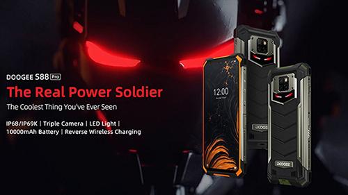 Doogee S88 chiếc điện thoại siêu bền, pin cực khủng - Ảnh 1.
