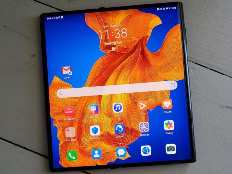 Chính thức ra mắt chiếc Huawei Mate Xs 5G có thể gập lại như một cuốn sách - Ảnh 1.