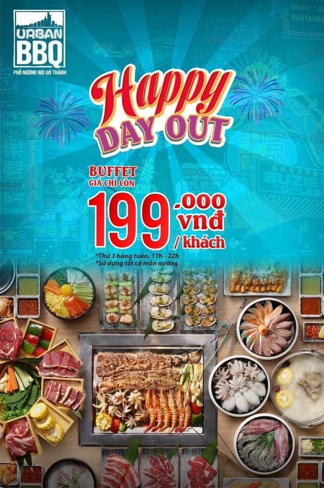 Khuyến mãi ăn uống tuần này (1/3-7/3): Korean Grill - Buzza BBQ 'đi 3 tặng 1, đi 6 tặng 2', Comebuy giảm đến 30% - Ảnh 2.