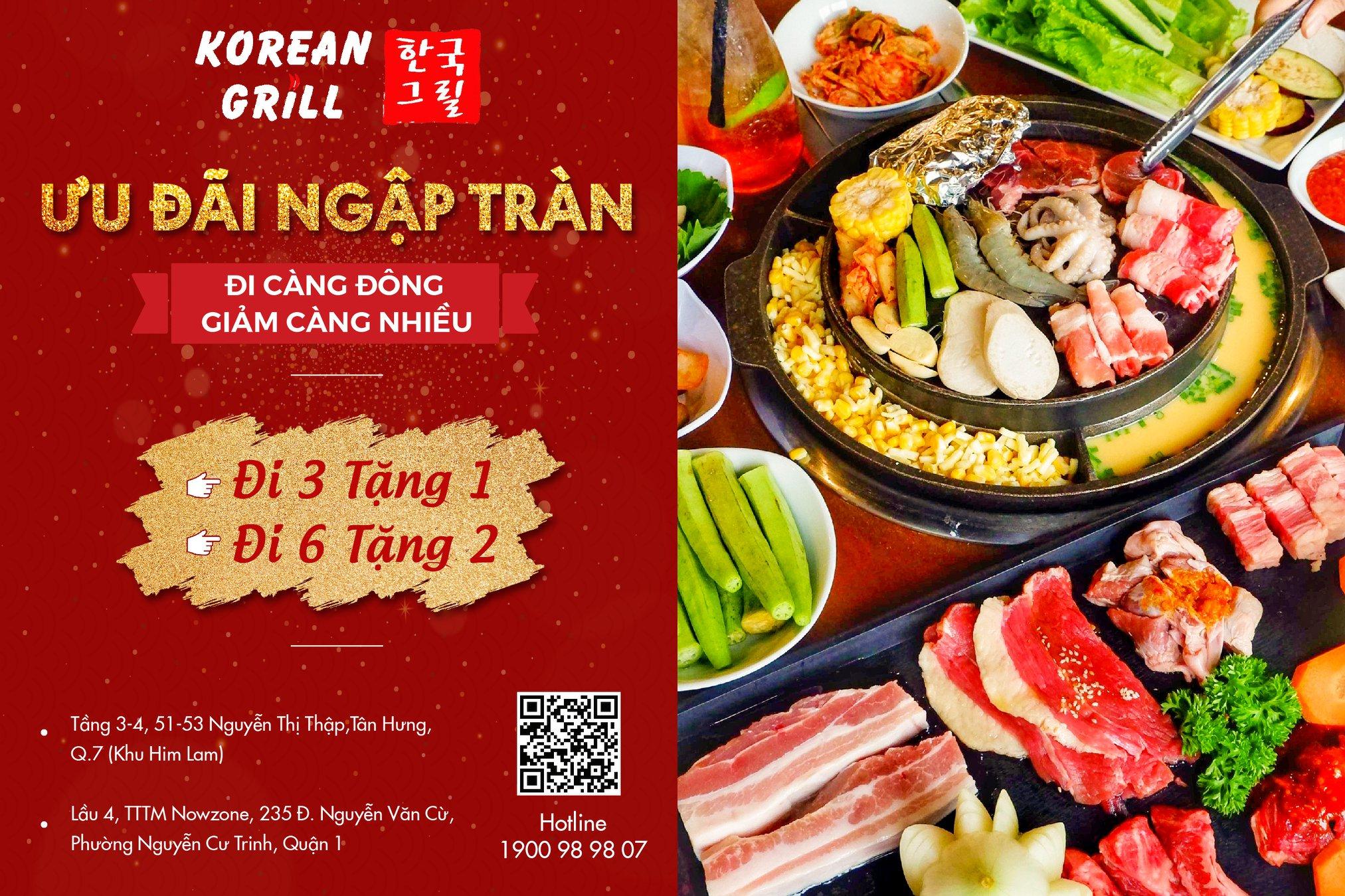 Khuyến mãi ăn uống tuần này (1/3-7/3): Korean Grill - Buzza BBQ 'đi 3 tặng 1, đi 6 tặng 2', Comebuy giảm đến 30% - Ảnh 5.