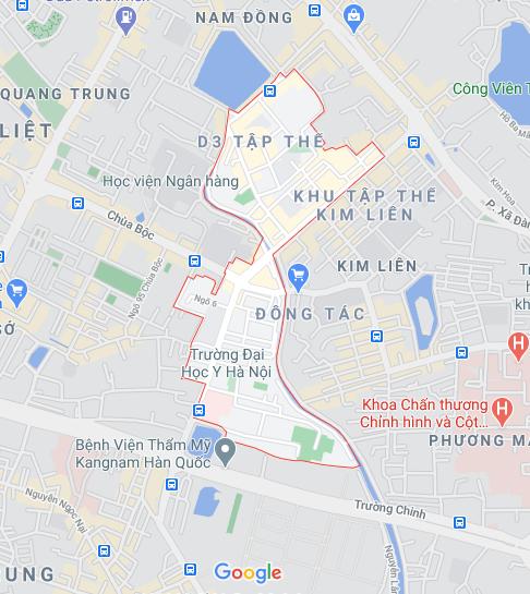 Những khu đất dính quy hoạch ở phường Trung Tự, Đống Đa, Hà Nội - Ảnh 1.