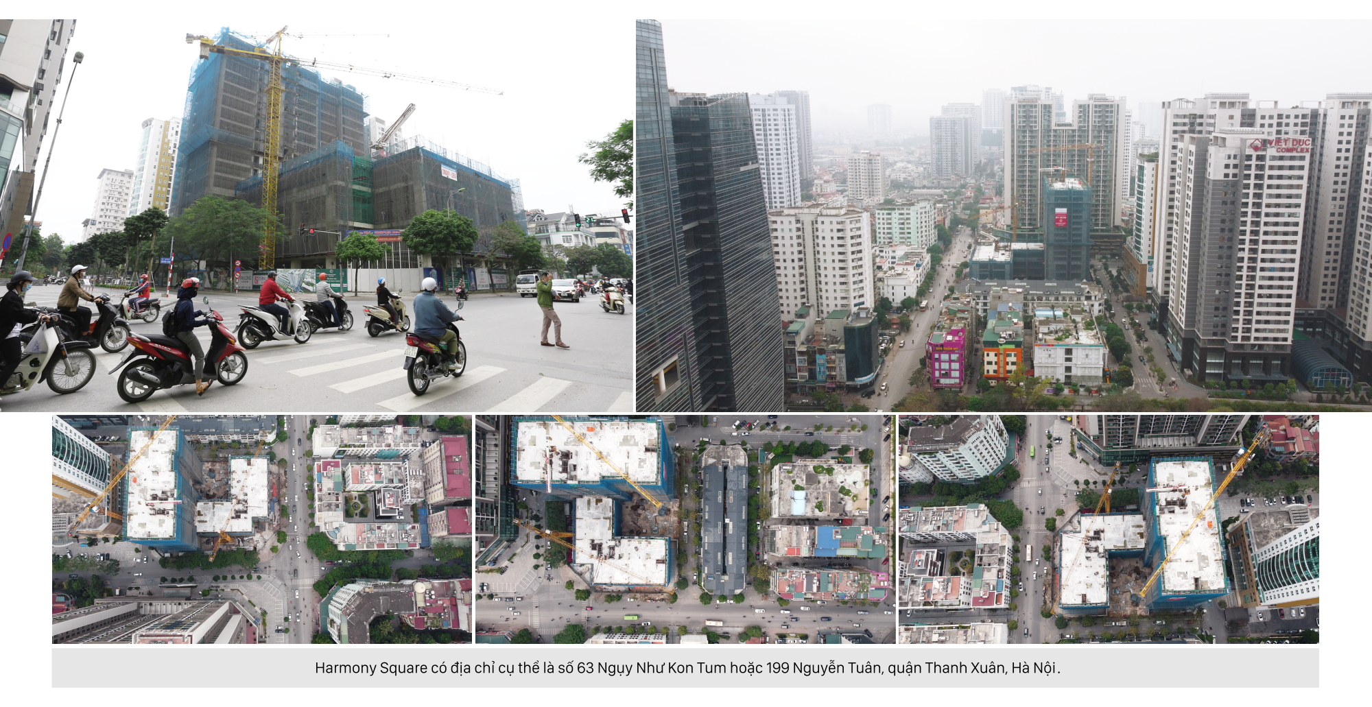 Review dự án Harmony Square đang mở bán: Có ưu điểm gì giữa khu vực dày đặc nhà cao tầng? - Ảnh 1.