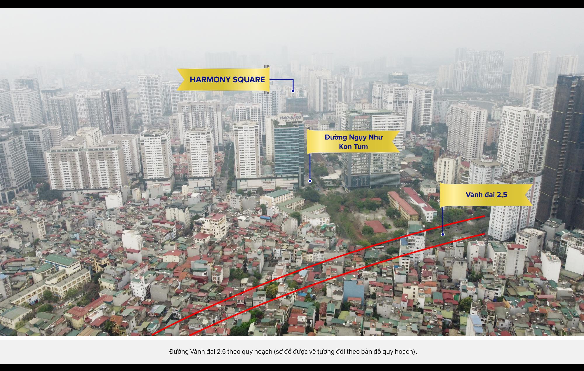 Review dự án Harmony Square đang mở bán: Có ưu điểm gì giữa khu vực dày đặc nhà cao tầng? - Ảnh 12.